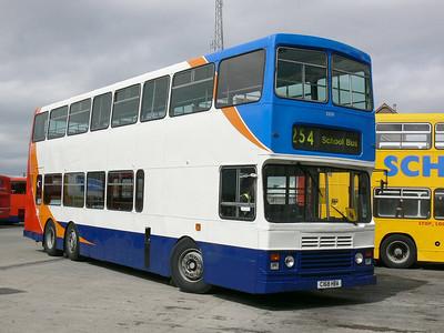 Stagecoach Bluebird 13508 Peterhead Depot 2 May 07