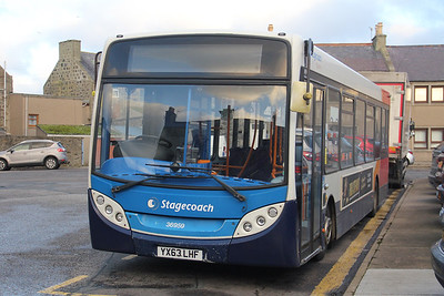 Stagecoach Bluebird 36959 School Street Fraserburgh Nov 19