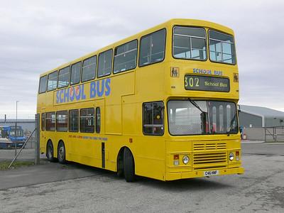 Stagecoach Bluebird 13510 Macduff Depot 2 May 07