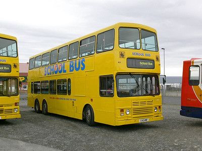 Stagecoach Bluebird 13503 Macduff Depot 1 May 07