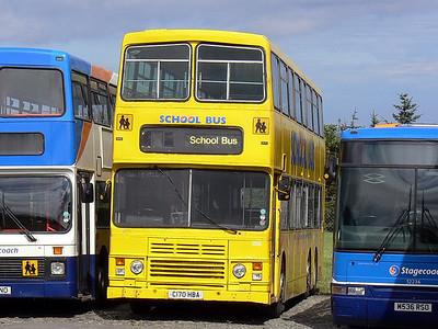 Stagecoach Bluebird 13506 Macduff Depot Aug 09