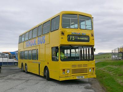 Stagecoach Bluebird 13512 Macduff Depot 1 May 07