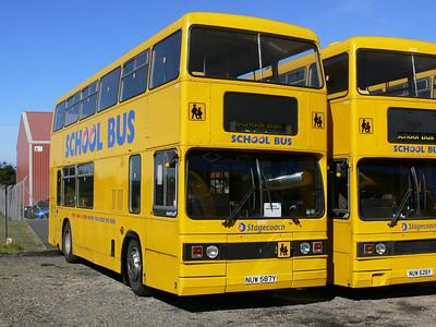 Stagecoach Bluebird 10587 MacDuff Depot Sep 06