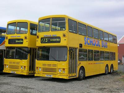 Stagecoach Bluebird 13503_12 Macduff Depot 2 May 07