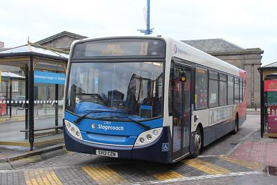 Stagecoach Bluebird 27803 Inverness Bus Station Jan 18