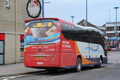 Stagecoach Bluebird 54827 Inverness Bus Station 2 Jan 18