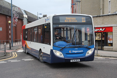 Stagecoach Bluebird 27106 Strothers Lane Inverness Jan 18
