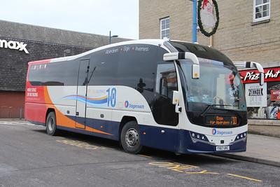 Stagecoach Bluebird 54827 Inverness Bus Station 1 Jan 18