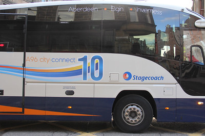 Stagecoach Bluebird 54830 Academy Street Inverness 2 Jan 18