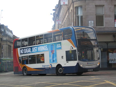 Stagecoach North East 10000 MX12EOC Market St, Newcastle on 38