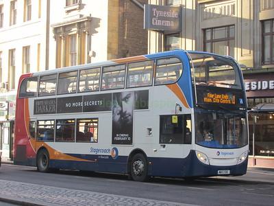 Stagecoach North East 10000 MX12EOC Pilgrim St, Newcastle on 1