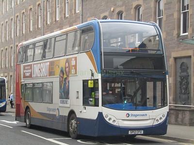 Stagecoach East Scotland 10002 SP12CFU Kinnoull St, Perth