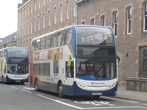 Stagecoach East Scotland 10003 SP12CFV Kinnoull St, Perth