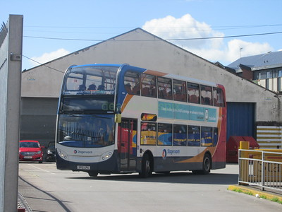 Stagecoach East Scotland 10004 SP12CFX Seagate Bus Stn, Dundee