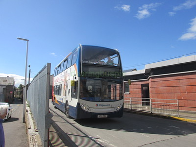 Stagecoach East Scotland 10004 SP12CFX Seagate Bus Stn, Dundee (1)