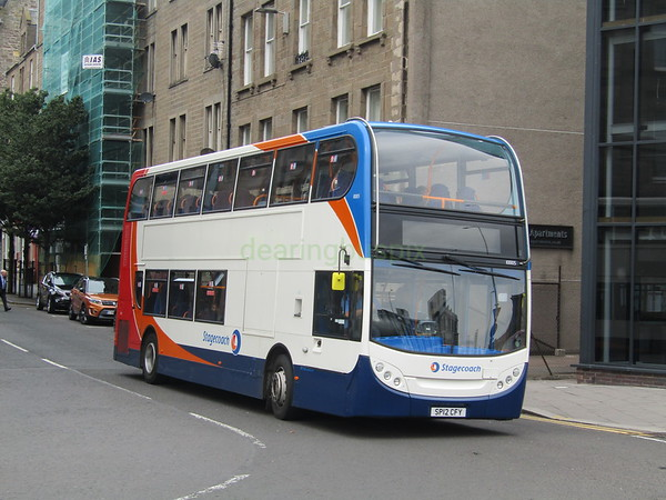 Stagecoach East Scotland 10005 SP12CFY Commercial St, Dundee