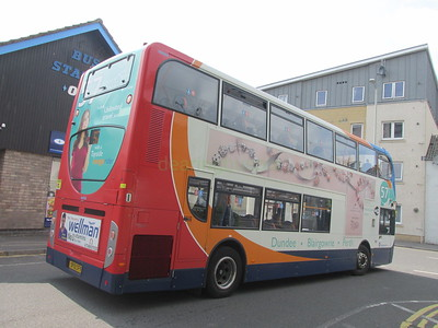 Stagecoach East Scotland 10005 SP12CFY Perth Bus Stn on 57 (1)