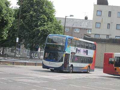 Stagecoach East Scotland 10005 SP12CFY Perth Bus Stn on 57