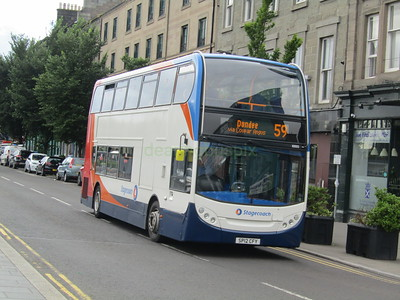 Stagecoach East Scotland 10005 SP12CFY Dock St, Dundee on 59