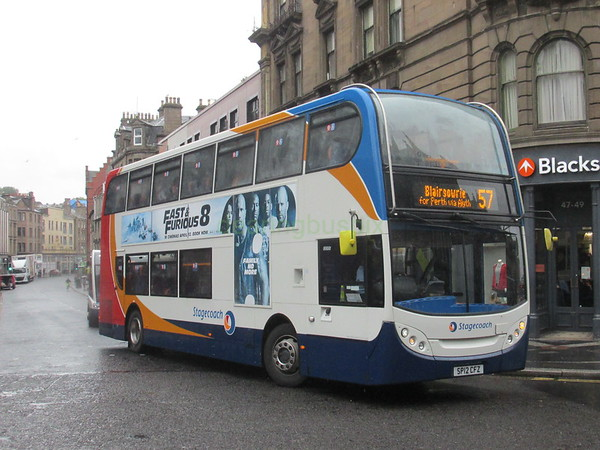 Stagecoach East Scotland 10005 SP12CFZ Seagate, Dundee on 57