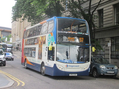Stagecoach East Scotland 10007 SP12CGE Crichton St, Dundee on 57