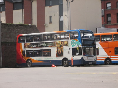 Stagecoach East Scotland 10007 SP12CGE Seagate Bus Stn, Dundee