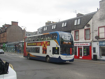 Stagecoach East Scotland 10007 SP12CGE County Place, Perth on 57A