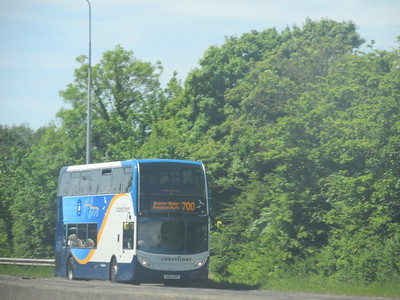 Stagecoach South 10008 GX12DXP unknown location on 700