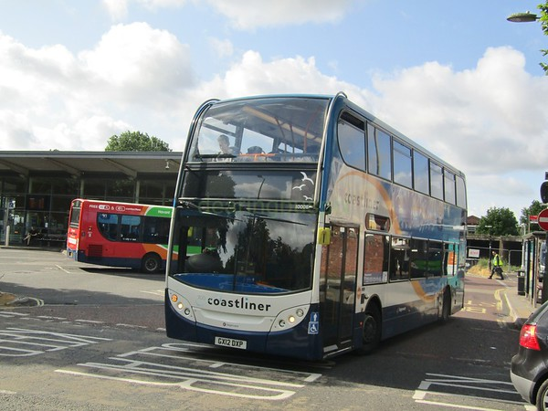 Stagecoach South 10008 GX12DXP Havant Bus Stn