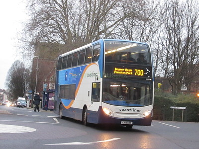 Stagecoach South 10009 GX12DXR Bishop Crispian Way, Portsmouth on 700