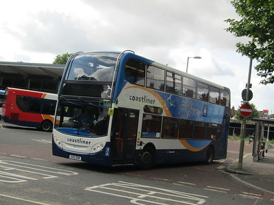 Stagecoach South 10009 GX12DXR Havant Bus Stn