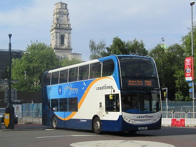 Stagecoach South 10009 GX12DXR Commercial Rd, Portsmouth on 700 (1280x960)