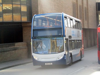 Stagecoach East 10010 AE12CKA Peterborough Bus Stn