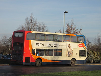Stagecoach East 10013 AE12CKF Madingley Park & Ride, Cambridge on X5