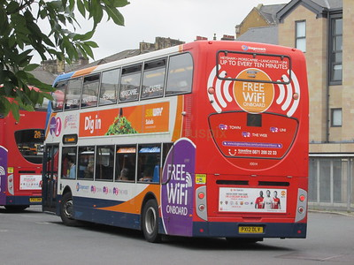 Stagecoach C&NL 10014 PX12DLV Lancaster Bus Stn on 2