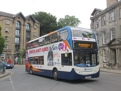 Stagecoach C&NL 10015 PX12DLV Cable St, Lancaster on 2