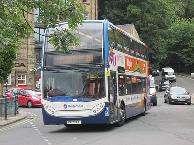 Stagecoach C&NL 10015 PX12DLY Cable St, Lancaster on 2X