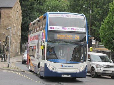 Stagecoach C&NL 10017 PX12DME Cable St, Lancaster on 2A