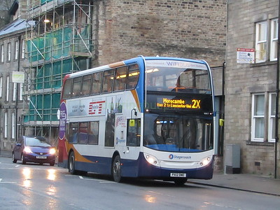 Stagecoach C&NL 10017 PX12DME Cable St, Lancaster on 2X
