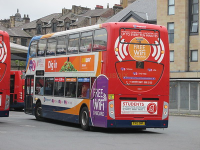 Stagecoach C&NL 10018 PX12DMF Lancaster Bus Stn on 2