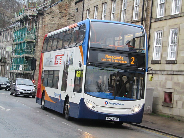 Stagecoach C&NL 10019 PX12DMO Cable St, Lancaster on 2
