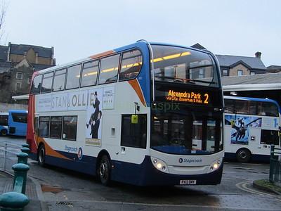 Stagecoach C&NL 10022 PX12DMY Lancaster Bus Stn on 2
