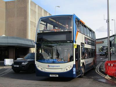 Stagecoach C&NL 10023 PX12DMZ Talbot Rd, Blackpool