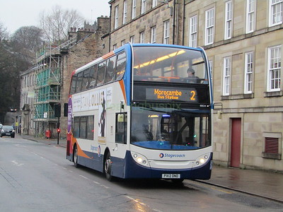 Stagecoach C&NL 10024 PX12DND Cable St, Lancaster on 2