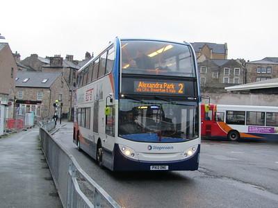 Stagecoach C&NL 10025 PX12DNE Lancaster Bus Stn on 2