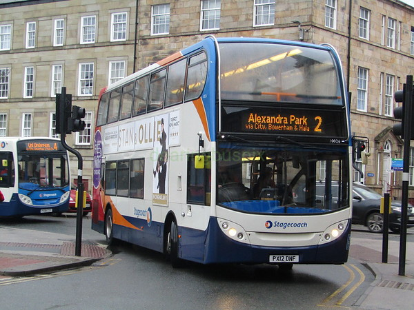 Stagecoach C&NL 10026 PX12DNF Chapel St, Lancaster on 2