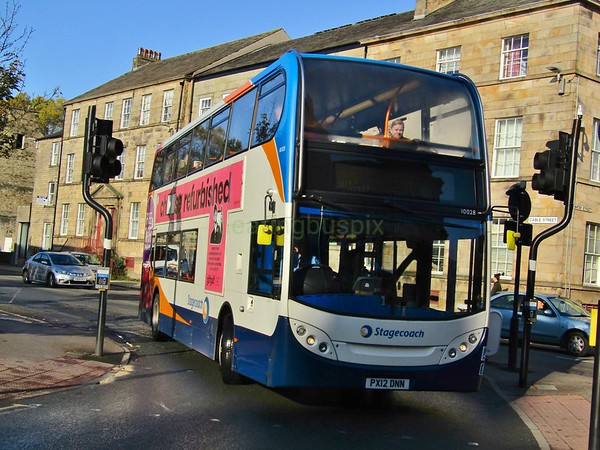Stagecoach C&NL 10028 PX12DNN Cable St, Lancaster