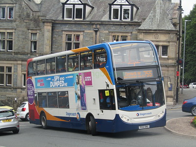 Stagecoach C&NL 10030 PX12DNU High St, Windermere on 755