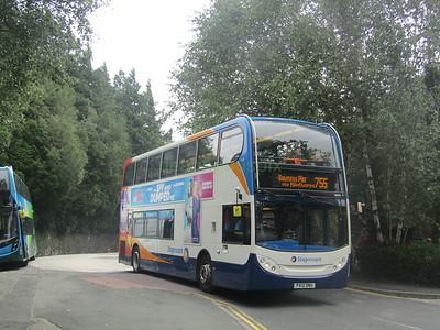 Stagecoach C&NL 10030 PX12DNU Windermere Stn on 755 (1)