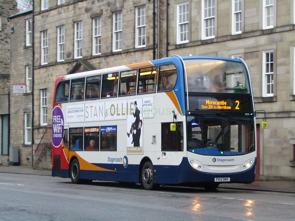 Stagecoach C&NL 10031 PX12DNV Cable St, Lancaster on 2